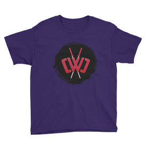 Scorched Logo Purple Tee - Youth