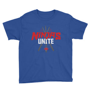 Ninjas Unite Royal Blue Tee - Boys