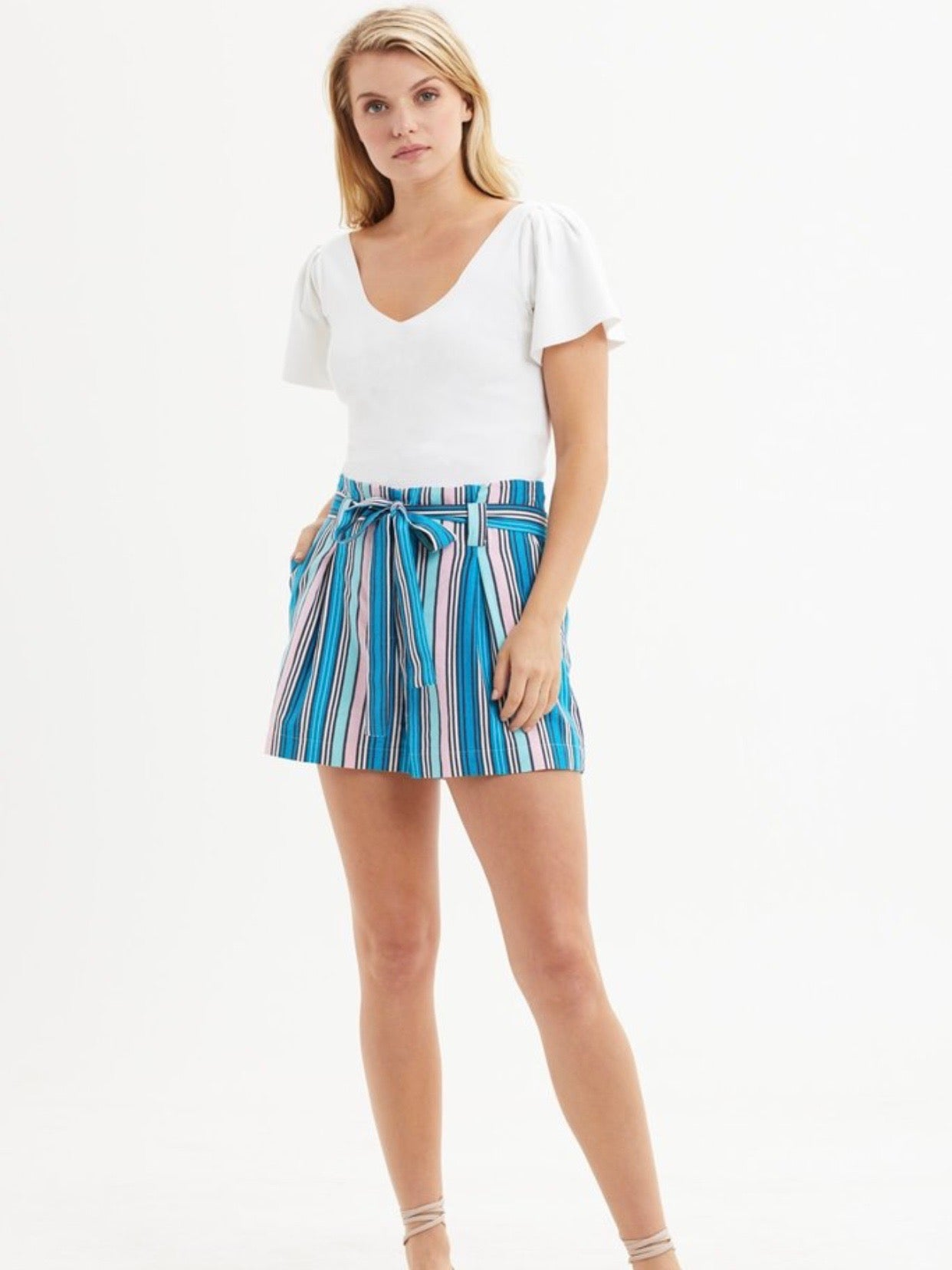 Piper Paper Bag Shorts