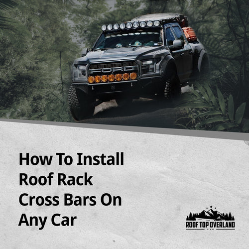 How To Install Roof Rack Cross Bars On Any Car