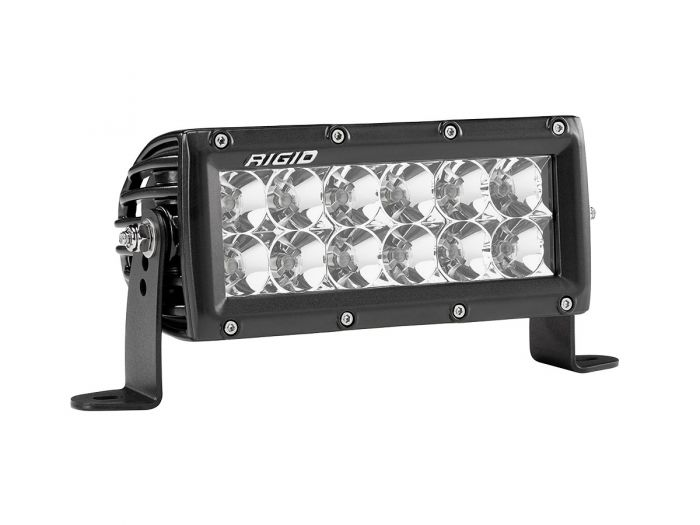 "Rigid E-Series Pro 6"" Flood Black"
