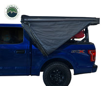 Overland Vehicle systems Nomadic 270 LT Awning - Driver Side 19559907- Dark Gray Cover With Black Cover Universal