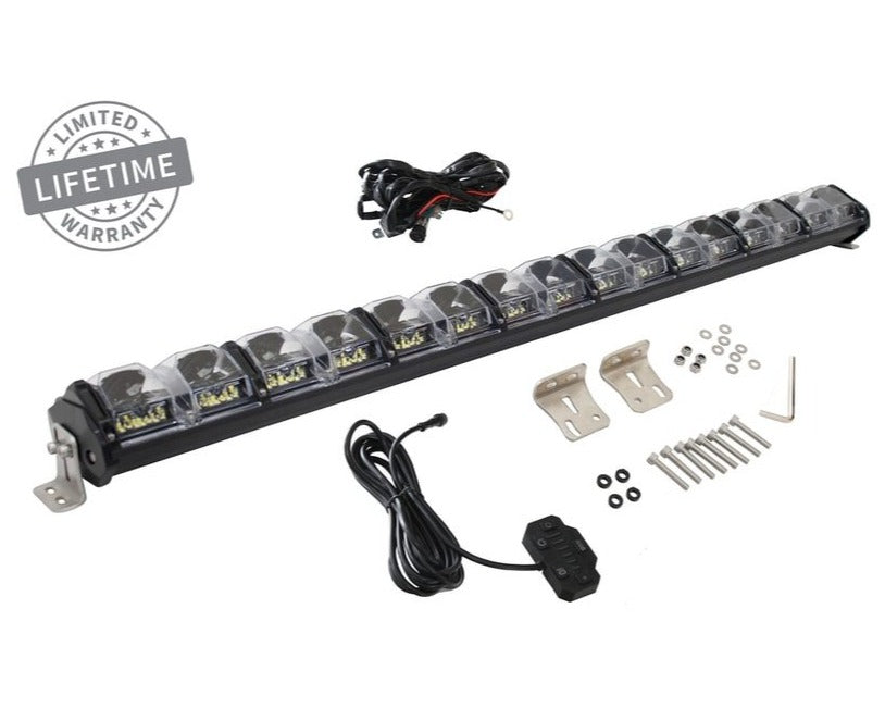 "Overland Vehicle Systems EKO 40"" LED Light Bar with Variable Beam, DRL, RGB, 6 Brightness"