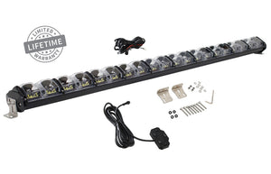 "Overland Vehicle Systems EKO 50"" LED Light Bar with Variable Beam, DRL, RGB, 6 Brightness"