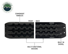 Overland Vehicle Systems Recovery Ramp / Traction Boards with Pull Strap and Storage Bag
