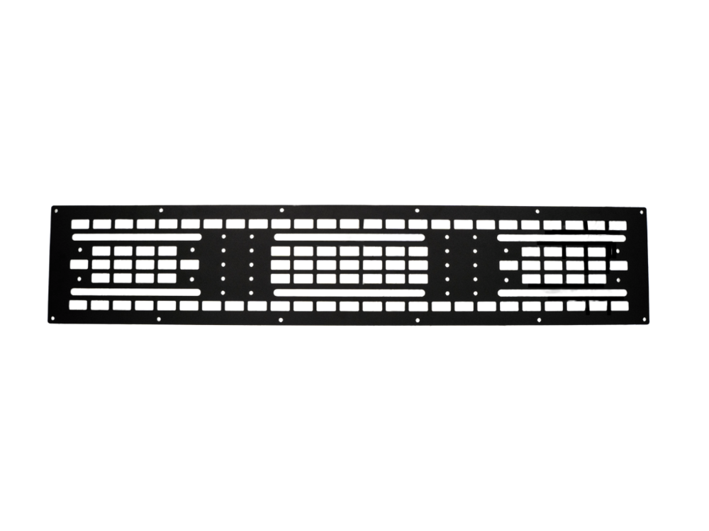 Cali Raised LED Roof Rack Mounted MOLLE Gear Panel