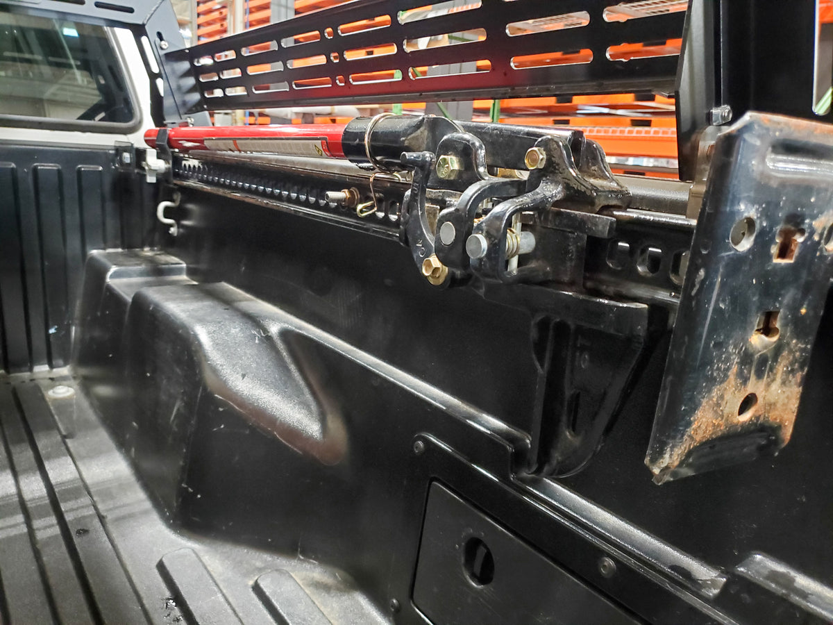 LFD Off Road - Hi-Lift Mount - Tacoma and Tundra Bed Rail Mount