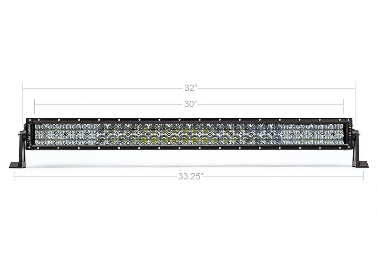 "Cali Raised LED 2014-2020 Toyota Tundra 32"" Lower Bumper Hidden LED Light Bar Combo"