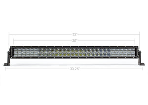 "Cali Raised LED 32"" Dual Row 5D Optic OSRAM LED Light Bar"