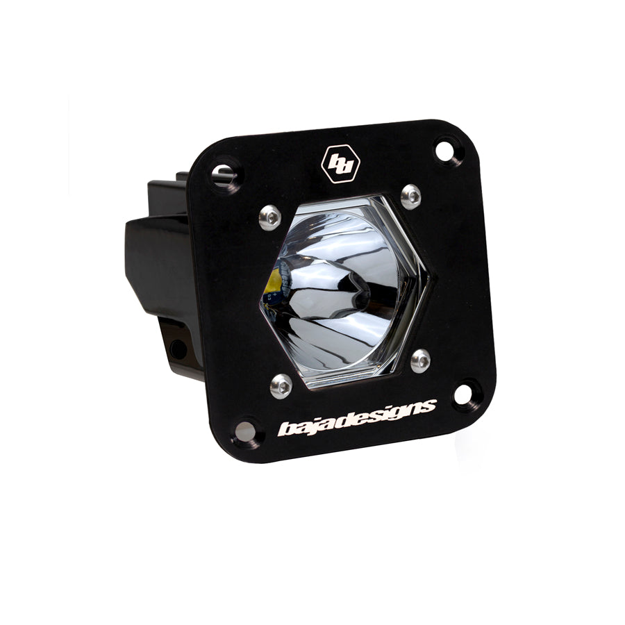 Baja Designs Black S1 Flush Mount
