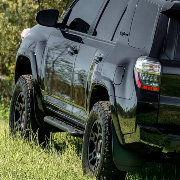 Cali Raised LED 2010-2021 Toyota 4Runner Step Edition Bolt On Rock Sliders