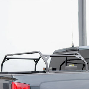 Tuff Stuff Rooftop Tent Truck Bed Rack, Adjustable, Powder Coated, Black, 40″ & 57""