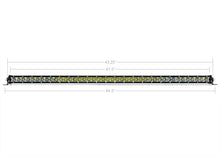 "Cali Raised LED 42"" Slim Single Row LED Light Bar (Amber)"