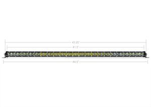 "Cali Raised LED 42"" Slim Single Row LED Light Bar"