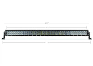 "Cali Raised LED 42"" Dual Row 5D Optic OSRAM LED Light Bar"