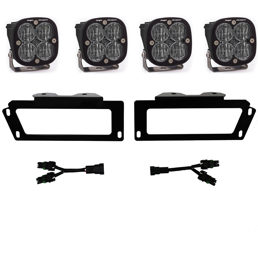 Baja Designs Dodge Ram 2500/3500 (10-18)1500 (09-12) SAE Fog Pocket Kits