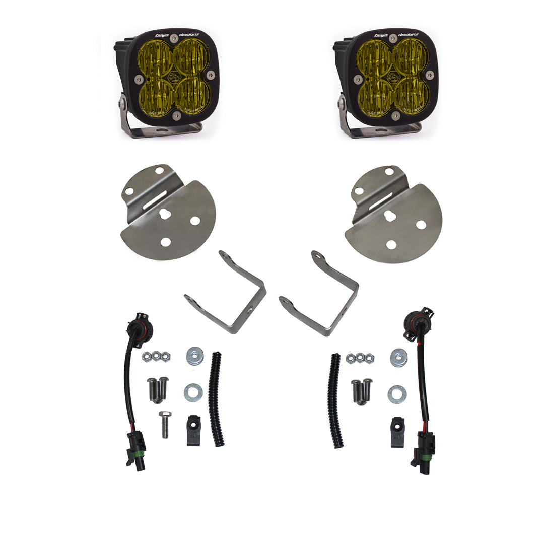 Baja Designs GM, Chevy/GMC HD, Canyon/Colorado (15-19) SAE Fog Pocket Kits