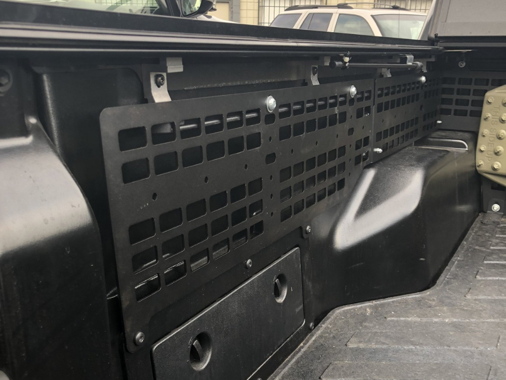 Cali Raised LED 2005-2021 Toyota Tacoma Bed MOLLE System for BAKFlip Cover