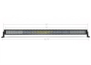 "Cali Raised LED 52"" Curved Dual Row 5D Optic OSRAM LED Light Bar"