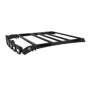 "KC HiLites M-Rack Kit - 50"" Pro6 Light Bar Roof Rack - Side Blackout Plates - 2007-2018 Toyota Tundra CrewMax"