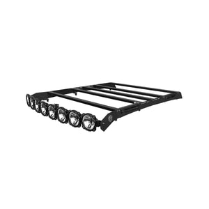 "KC HiLites M-Rack Kit - 50"" Pro6 Light Bar Roof Rack - Side Blackout Plates - 2019 Ford Ranger SuperCrew"