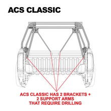 Leitner Active Cargo System ACS Classic Bed Rack - Jeep Gladiator