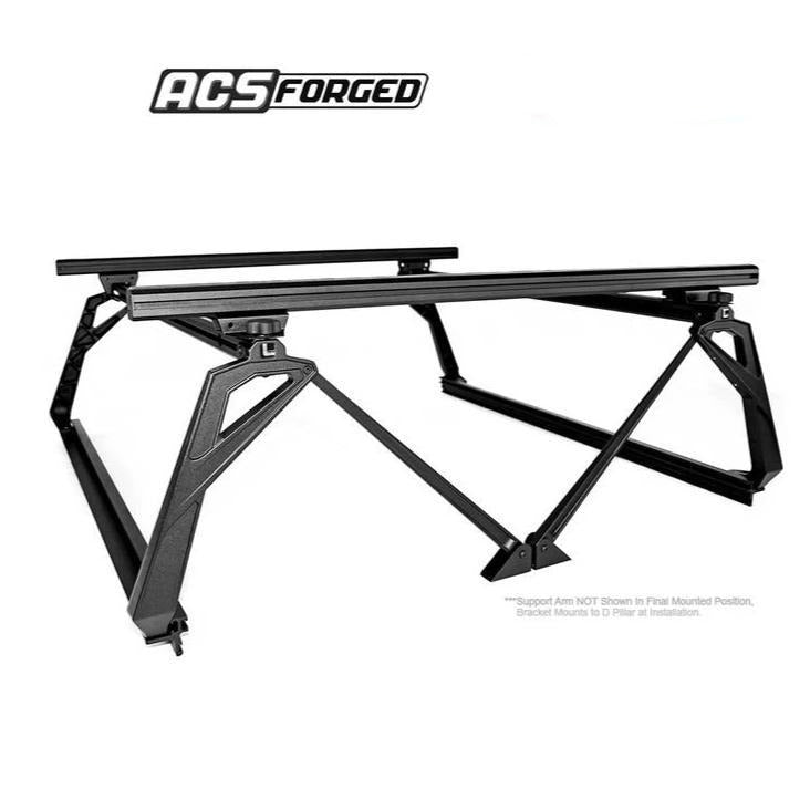 Leither GMC ACS Forged bed rack cargo system