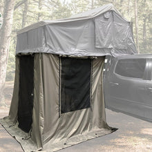 Overland Vehicle Systems Nomadic 3 Annex Green Base With Black Floor & Travel Cover