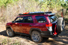 LFD Off Road 2010-2020 5th Gen 4runner - Rock Sliders - Angled, Bolt On .120 Wall DOM
