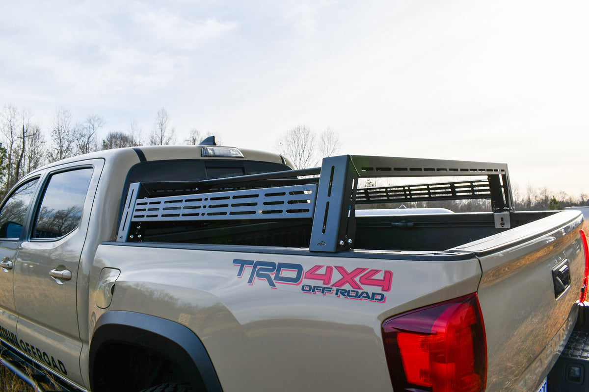 LFD Off Road Toyota Tacoma Bed Rack 2005+ Short Height, Short Bed