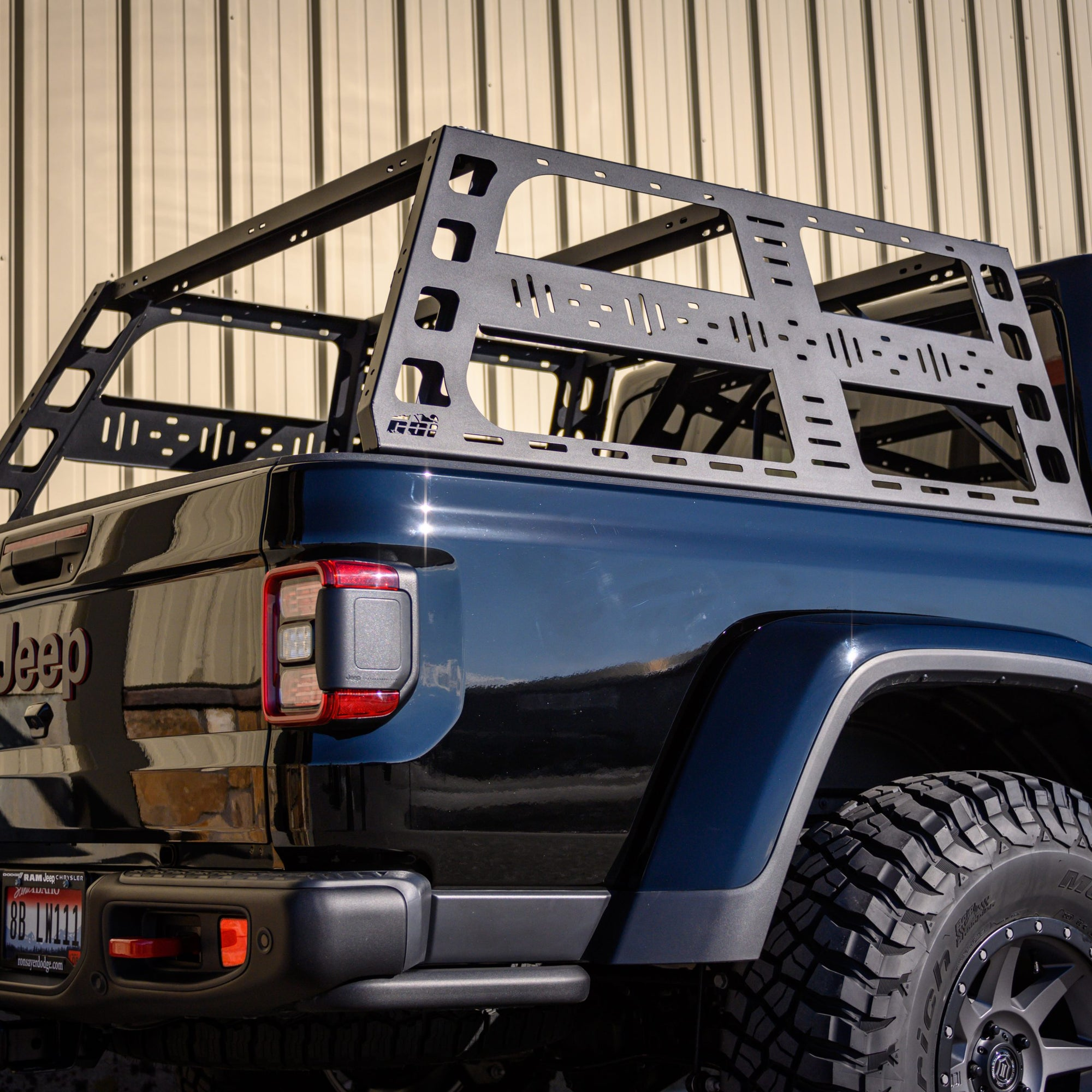 CBI Off Road Jeep Gladiator (JT) Cab Height Bed Rack