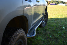 LFD Off Road GX460 Rock Sliders - Flat, Bolt On, Bumpout with Fill Plates - KDSS