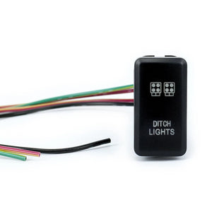 Cali Raised LED Toyota OEM Style Ditch Lights Switch