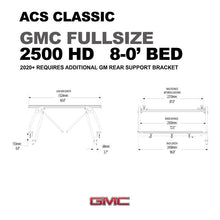 Leitner Active Cargo System ACS Classic Bed Rack - GMC