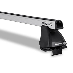 Rhino Rack Heavy Duty 2500 Silver 2 Bar Roof Rack