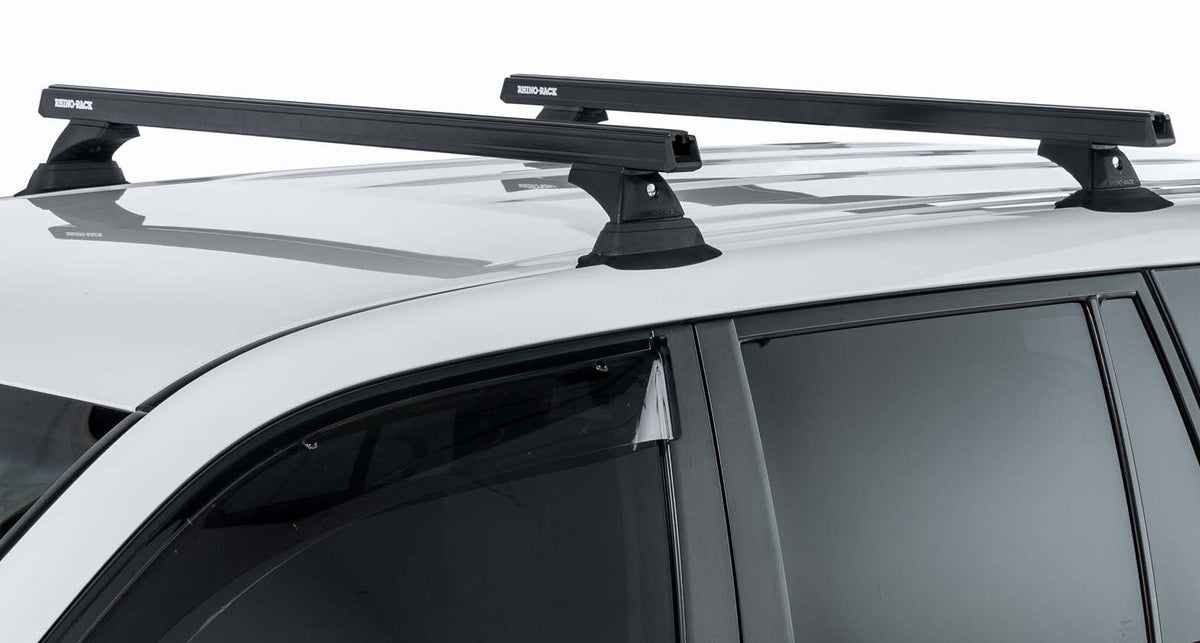 Rhino Rack Heavy Duty RCH Black 2 Bar Roof Rack FJ Cruiser