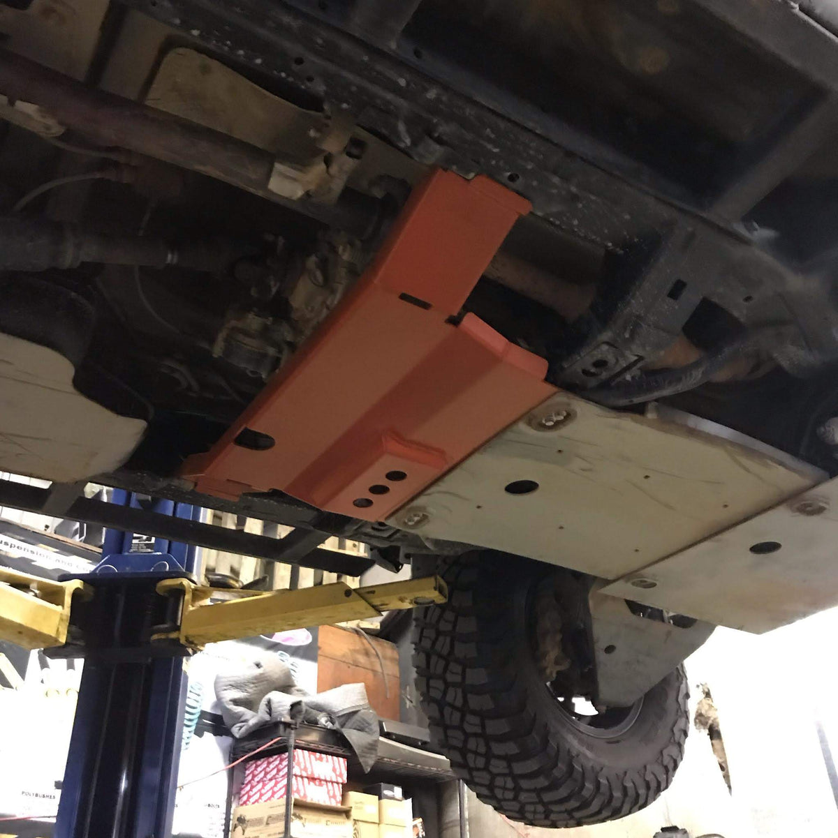 LFD Off Road 2010-2020 Toyota 4runner - Transfer Case Skid 5th Gen - Raw