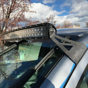 "Cali Raised LED 2007-2020 Toyota Tundra 52"" Curved LED Light Bar Roof Combo"