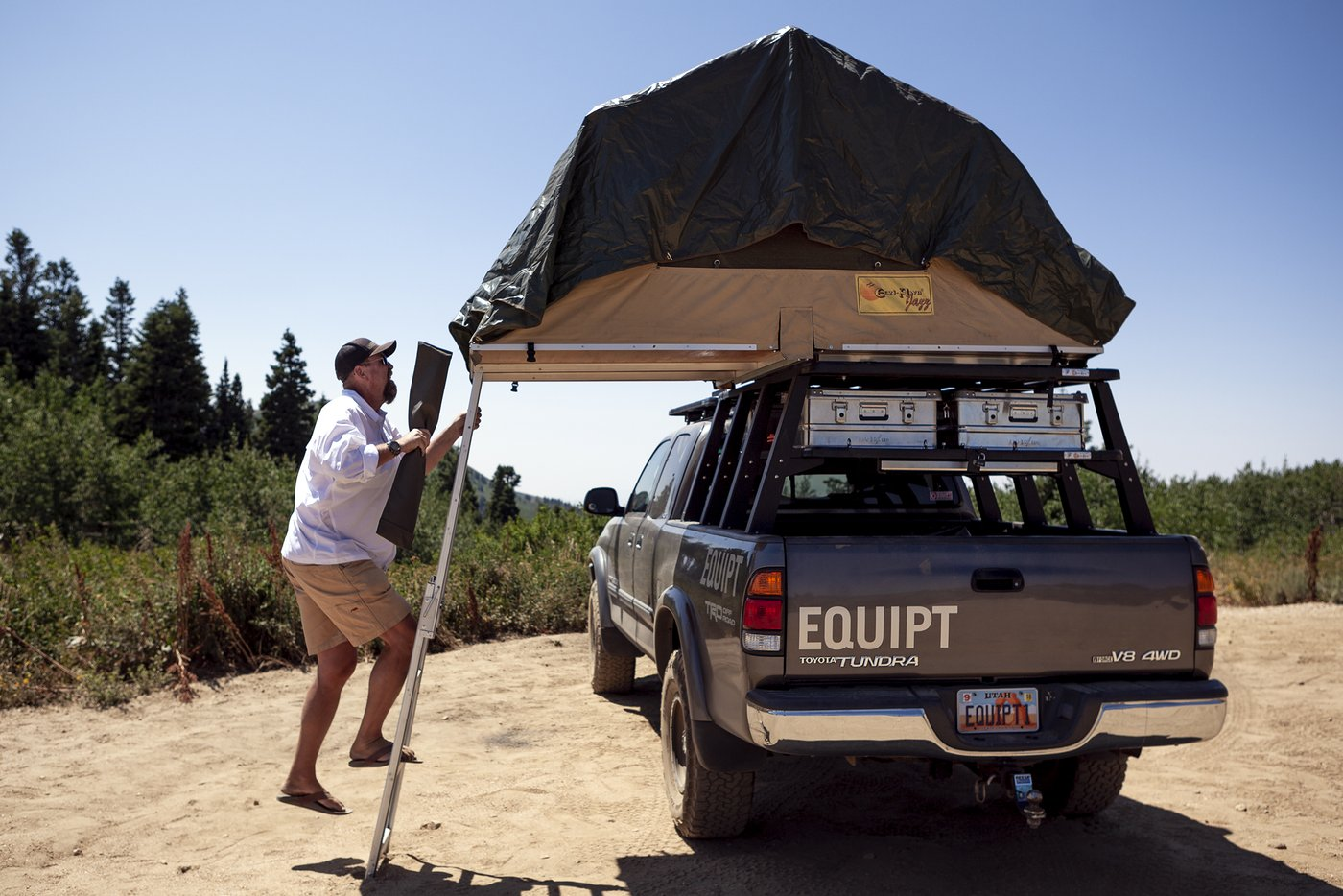 Eezi-Awn Jazz Roof Top Tent – Roof Top Overland