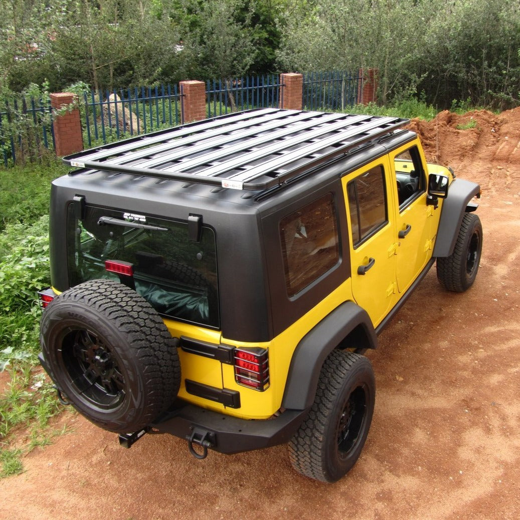 Eezi-Awn Jeep Wrangler K9 Roof Rack Kit