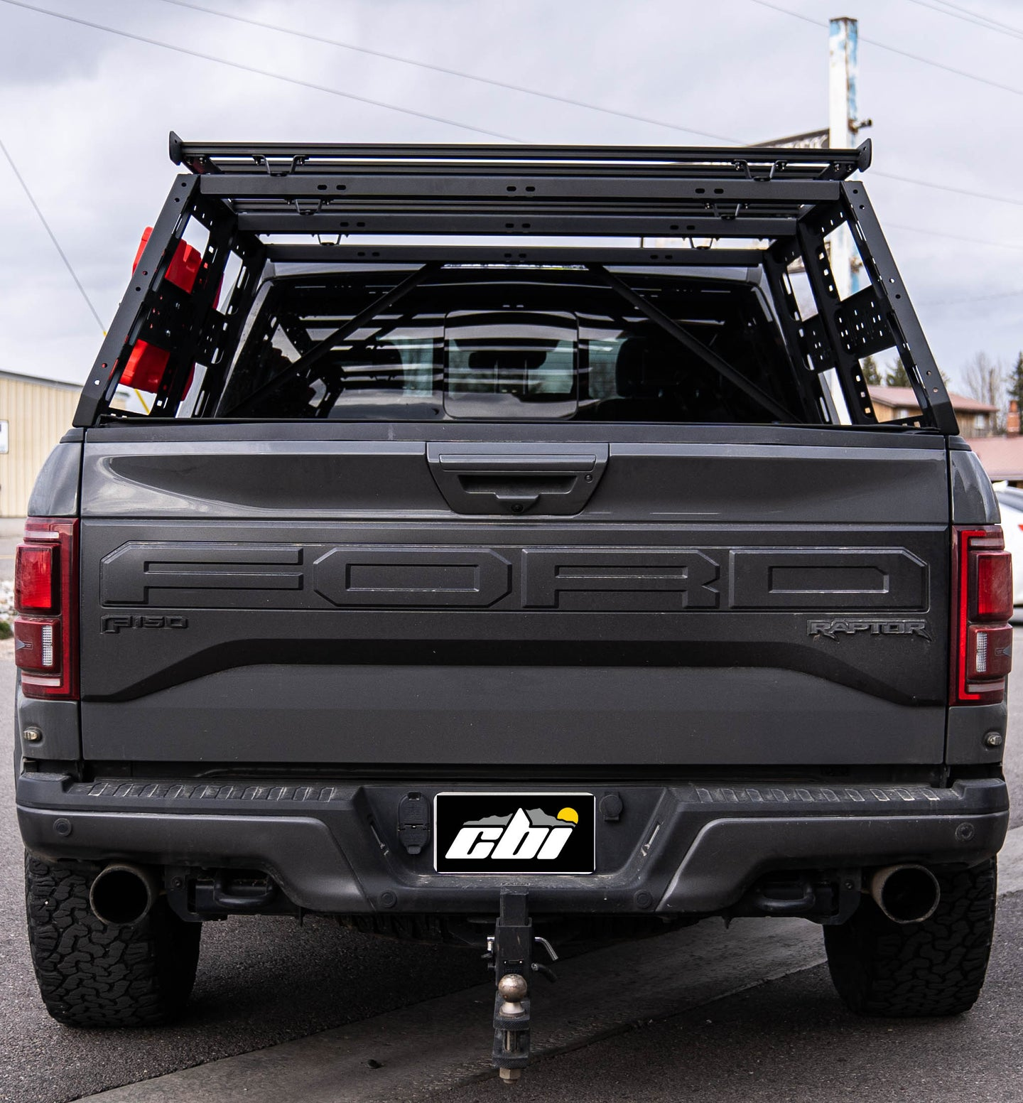CBI Off Road Ford Raptor Cab Height Bed Rack (5'6