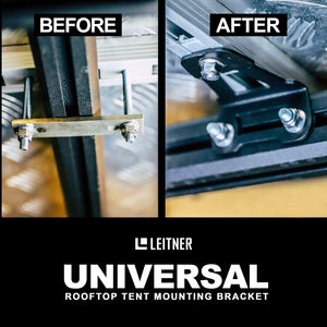 Leitner roof top tent mounting bracket
