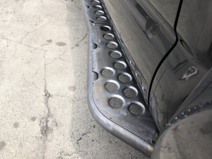 "Cali Raised LED 2005-2020 Toyota Tacoma 0 Degree ""Step"" Rock Sliders"