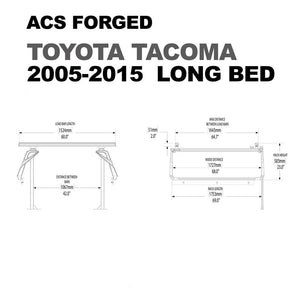 Leitner Active Cargo System ACS Forged Bed Rack - Toyota Tacoma