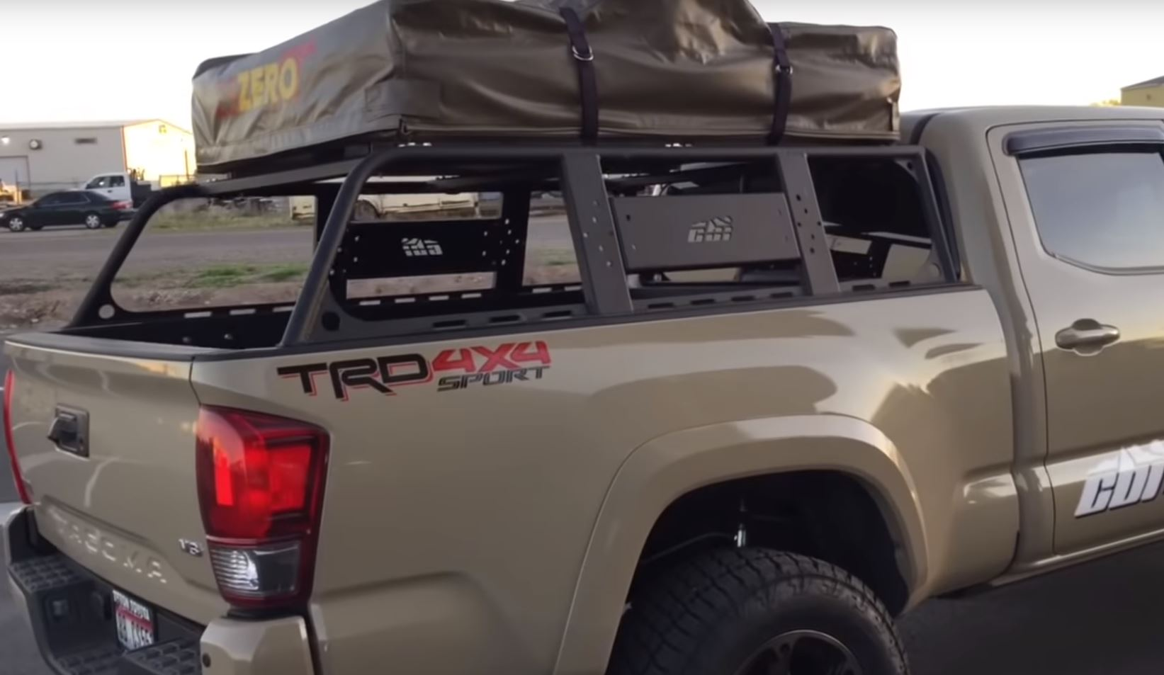Cbi Off Road 3rd Gen Toyota Tacoma Overland Bed Rack 2016 Current Roof Top Overland