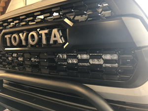 "Cali Raised LED 2016-2020 Toyota Tacoma 32"" Upper Grille LED Light Bar Combo"