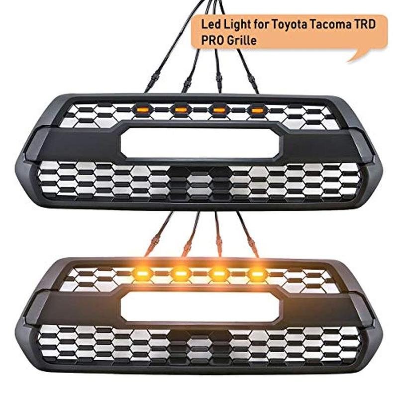 Cali Raised LED 2016-2021 Toyota Tacoma TRD Pro Grille Raptor LED Light Kit