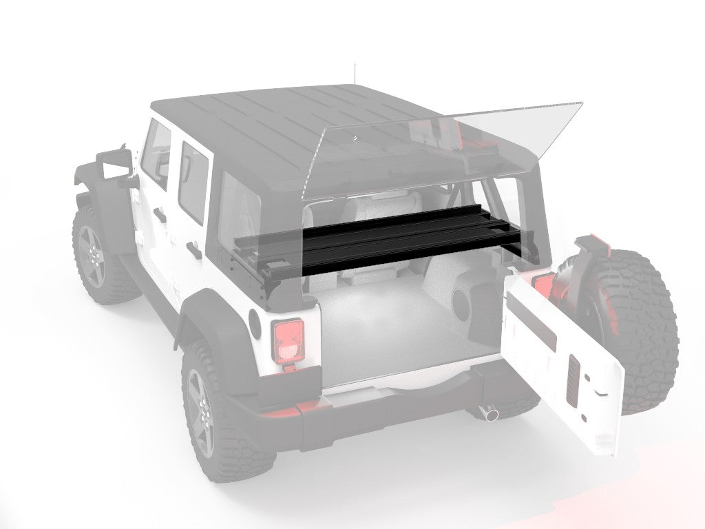 Front Runner Jeep Wrangler JKU 4-Door Cargo Storage Interior Rack