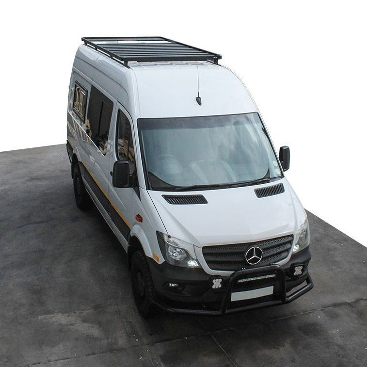 "Front Runner Mercedes Benz Sprinter 144"" WB with OEM Tracks (2006+) Slimline II Roof Rack Kit"