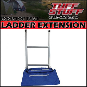"Tuff Stuff ""Elite"" Overland Roof Top Tent Dual Ladder Extension & Annex Extension"